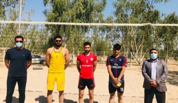 شرکت تیم های بوشهری در والیبال ساحلی