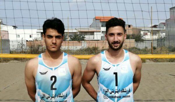 تیم بوشهر در مسابقات ساحلی بندر ترکمن