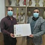 احمد شیرزاد خزانه دار هیات والیبال استان بوشهر شد